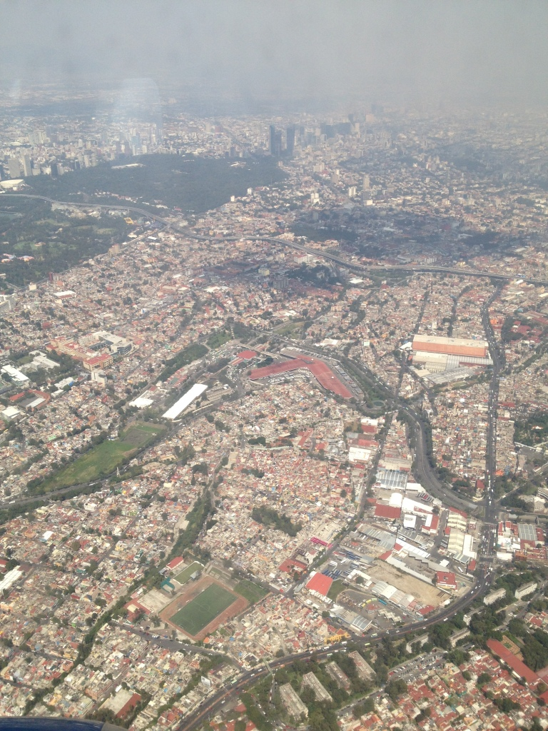 View Above Mexico City